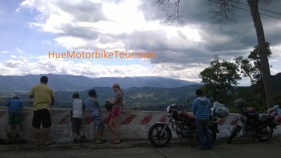 Phong Nha to Hue by motorcycle