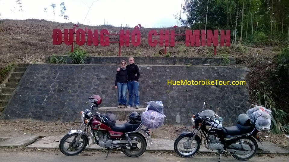 Hue Motorbike Tour to Hoi An on Ho Chi Minh route
